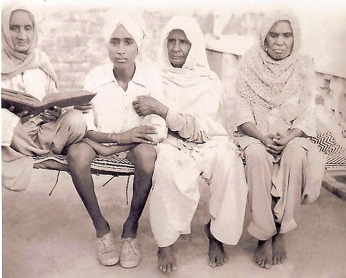 With older ladies 1954