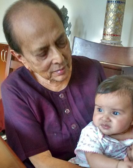 Sadona with great-granddaughter 2015