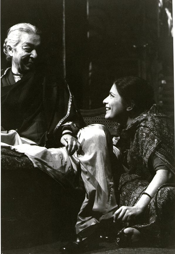 Jamila, right, with the iconic Zohra Segal in Hedda in India, an adaptation of Ibsen's great play staged in London in 1983. It was directed by Madhav Sharma, and received rave reviews.