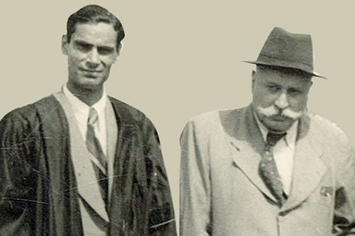 Prof. Bhatla and Mr. Dewan