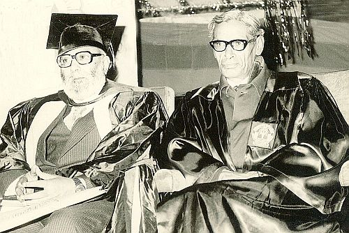 Dr. Salam and Prof. Bhatla