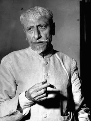 Maulana Azad in his later years.