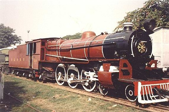 A YB-Class Pacific locomotive