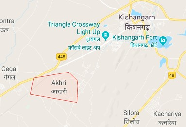 Akhri village map 2018
