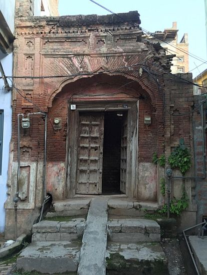 Haveli of my maternal Grandparents, Ram Singh and Sant Kaur, where my mother and her siblings grew up in Kotli Laharan. 2016.