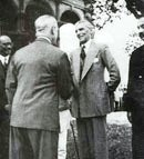 M. A. Jinnah with Lord Wavell